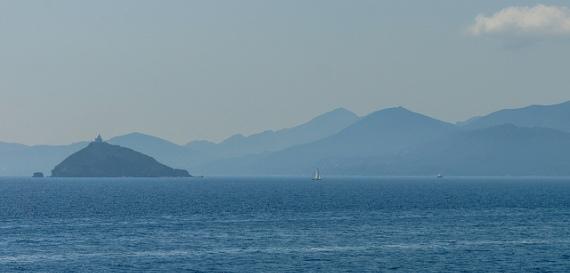 Insel Giglio und Umgebung