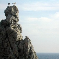 Faraglione der Insel Giglio