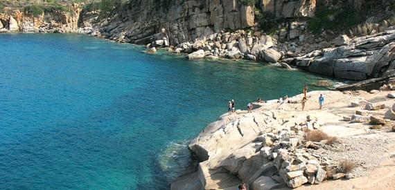 Urlaubes auf der Insel Giglio