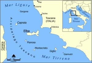 Archipel der Toskana Insel Giglio
