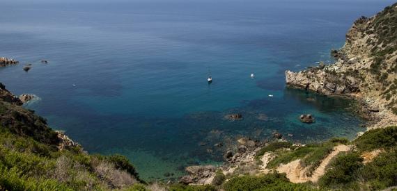 Insel Giglio die Fotos der schönsten Strände