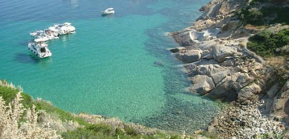 Wie ist das Meer der Insel Giglio