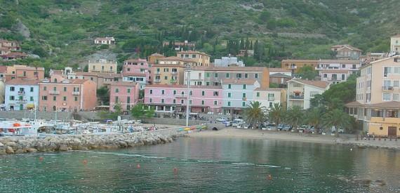 Insel Giglio Brunnen