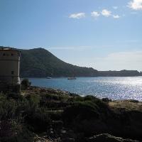 der Strand von Giglio Campese