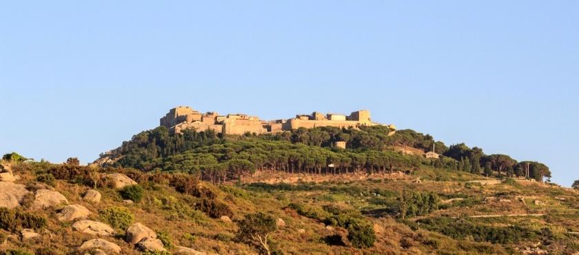 Giglio Island villages