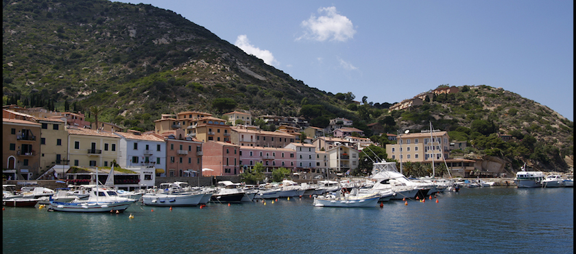 May 1st in Italy: Giglio Island