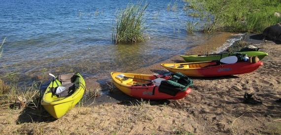 isola del Giglio kayak