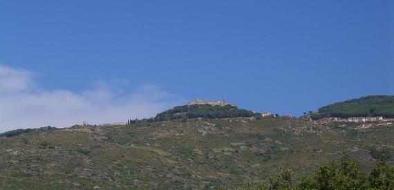 sentieri isola del Giglio: Castello-Arenella