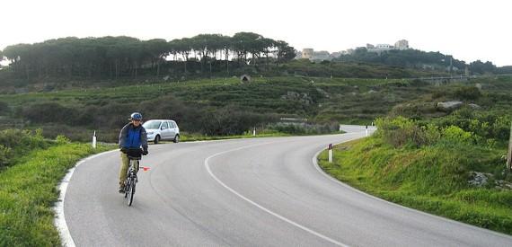 isola del Giglio in bicicletta