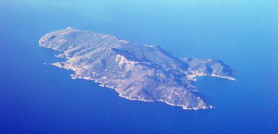 isola del Giglio quanto è grande