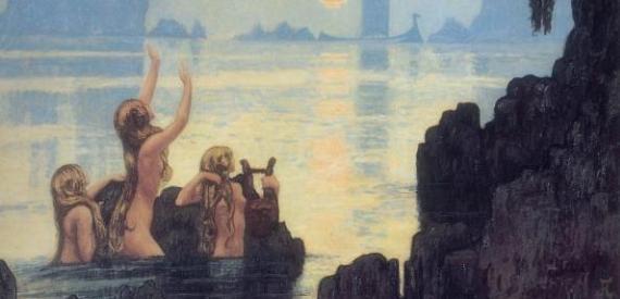 leggende dell'isola del Giglio: le sirene