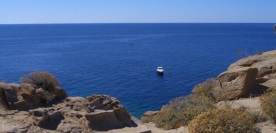 isola del Giglio a tappe: punta di Capel Rosso