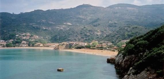le spiagge libere dell'isola del Giglio