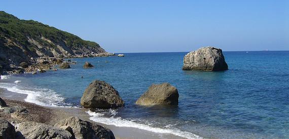 giro delle spiagge dell'isola del Giglio: parte 2