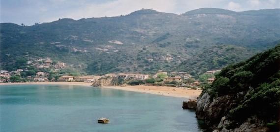 giro delle spiagge dell'isola del Giglio: parte 4