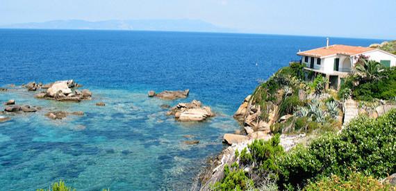 giro delle spiagge dell'isola del Giglio: parte 3