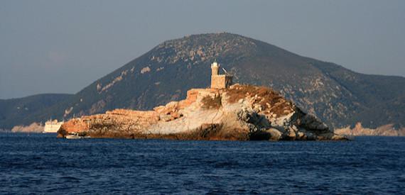 isole vicino al Giglio