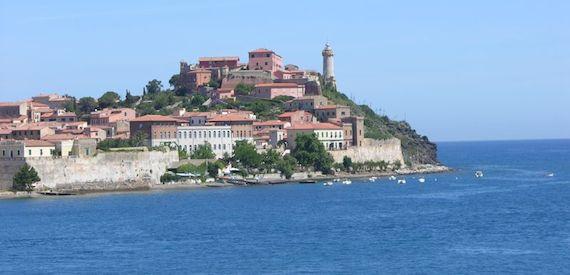 dall'isola del Giglio all'isola d'Elba