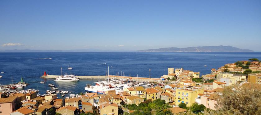 isola del Giglio a Pasquetta