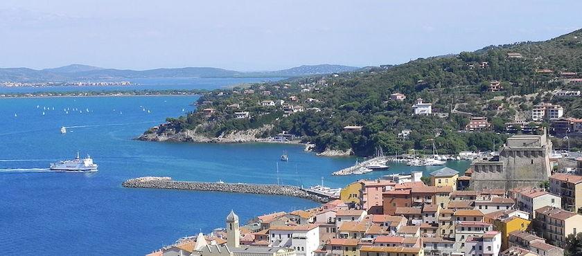 parcheggio Porto Santo Stefano per isola del Giglio